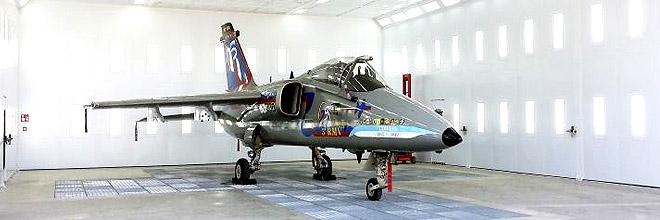 Покрасочные камеры для окраски самолетов и вертолетов