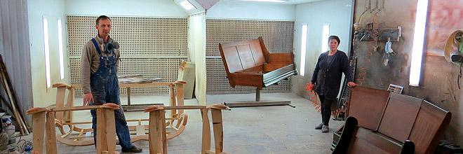 Окрасочно сушильные камеры для мебельного производства